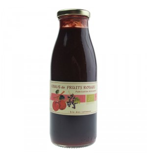 °COULIS FRUITS ROUGES BIO 50CL