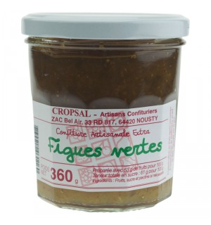 CONFITURE FIGUES VERTES