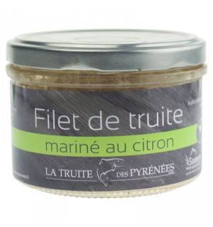 TRUITE MARINÉE HUILE D OLIVE