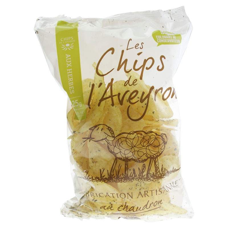 CHIPS ARTISANALES HERBES