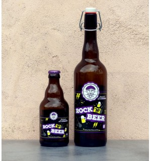 BIERE ROCK N BEER 75CL